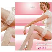 'Gabriella Hosiery' CALZE DORFY HOLD UP STOCKINGS [Size 1/2 + 3/4] 20 DEN